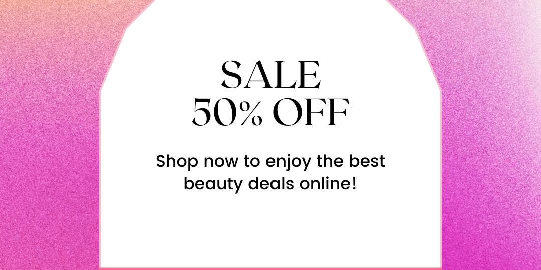 Pink Gradient Beauty Sale Instagram Post