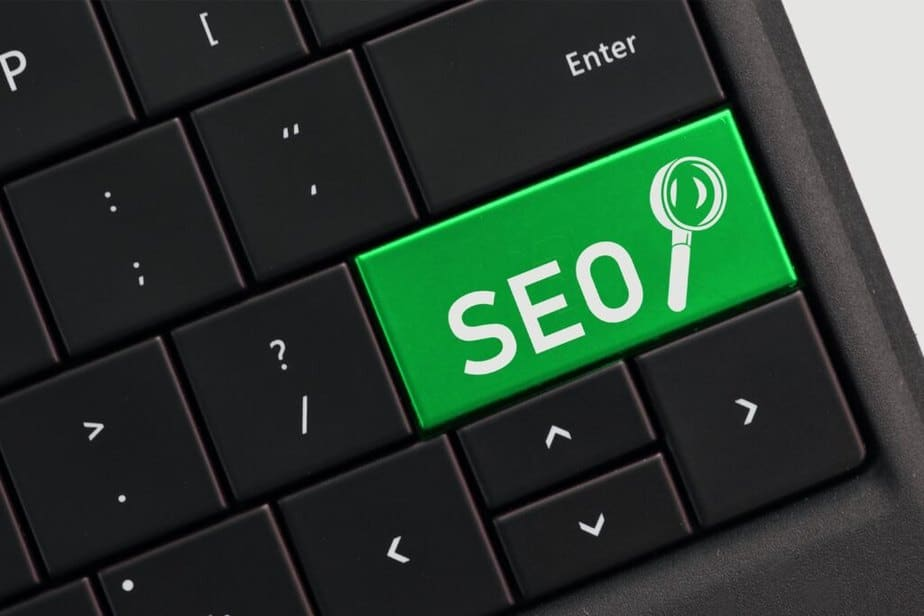 search engine optimization concept seo with magnif JQP5DHE